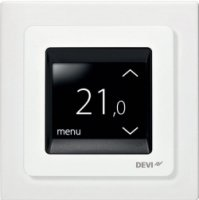 DEVIreg Touch Programmable Thermostat - Pure White