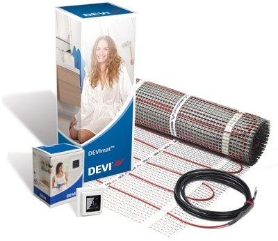 DEVIcomfort 150w/m2 DTIR-150 8.0m2 1200w Underfloor Heating Kit