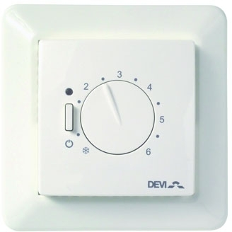 DEVIreg 530 Floor Sensing Manual Thermostat
