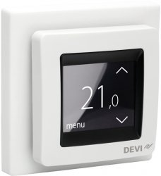 devi touch 2000x2000 devireg touch programmable thermostat (pure white) devi underfloor heating wiring diagram at soozxer.org