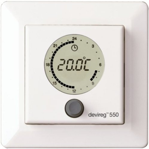 DEVIreg 550 Programmable Thermostat (White)
