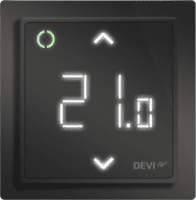 DEVIreg Smart, Black - WiFi, Programmable, Touchscreen