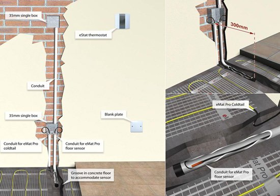 Contactor Wiring Diagram Underfloor Heating : Underfloor heating contactor wiring diagram