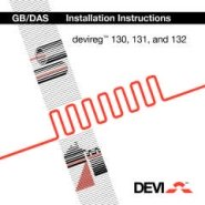 DEVIreg 130, 131, 132 Installation Guide