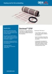 DEVImat-DTIF Product Data Sheet