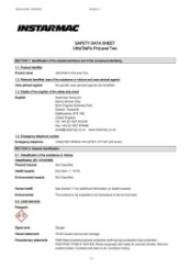 ProLevel Two Safety Datasheet