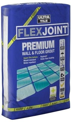 Ultra-Tile Flexible Grout Grey 3kg