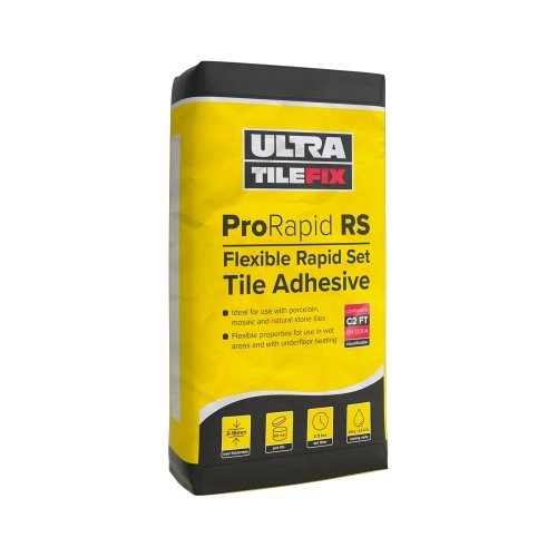 Ultra-Tile ProRapid RS Rapid Set Flexible Tile Adhesive (Grey)